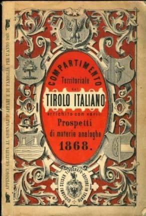 Compartimento Territoriale Tirolo Italiano 1868