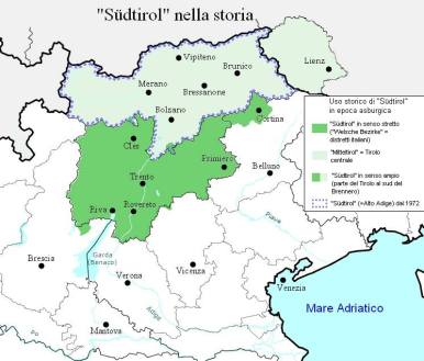 O termo Südtirol (