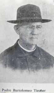 """Padre Tiecher - O primeiro pároco da imigração """"italiana"""" foi obrigado a se transferir para outra paróquia porque se declarava austríaco."""