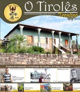 Jornal O Tirolês, editado no bairro Santa Olímpia.