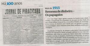 O imigrante Luis Negri era agente consular austríaco em Piracicaba.