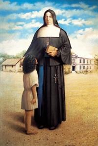 Santa Paulina do Coração Agonizante de Jesus, nascida Amabile Lucia Visintainer em 16/12/1865, em Vigolo Vattaro - Tirol, Áustria.