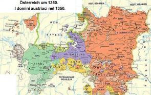 Áustria em 1350.