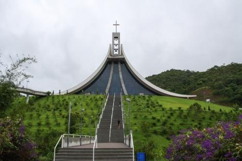 Basílica dedicada a Santa Paulina, localizada no bairro Vigolo, em Nova Trento (SC)