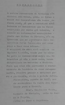 """Introdução de """"Esperança de uma vida nova"""" (1977)."""
