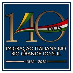 Selo 140 anos Imigraçao Italiana