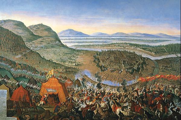 Cerco a Viena por parte dos turcos otomanos (1683).