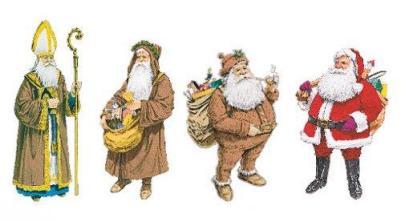 do Nikolaus ao Papai Noel