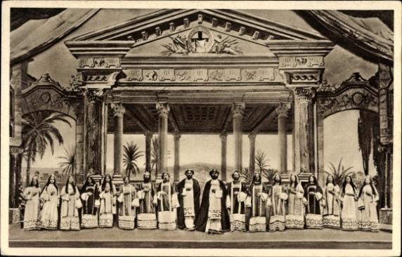 Paixao de Cristo 1912 Erl Tirol
