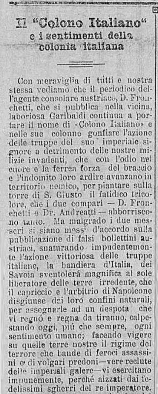 Jornal Citta di Caxias 28 junho 1915