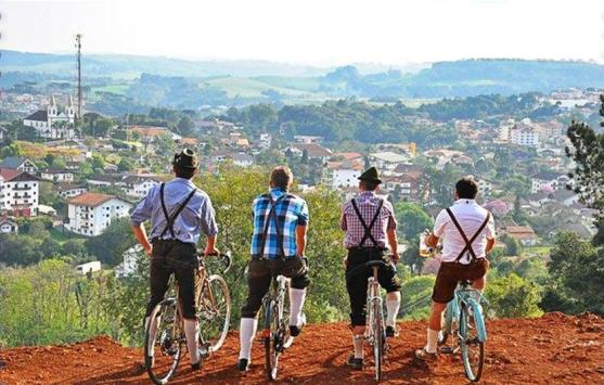 Foto: Pedal do Chopp (Treze Tílias SC)