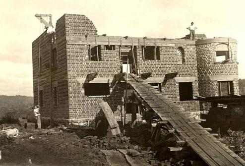 construção castelinho