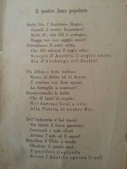 Inno Austriaco - versione italiana