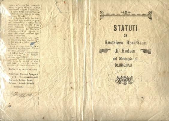 Estatuto Liga Austriaco Brasiliana Rodeio 1