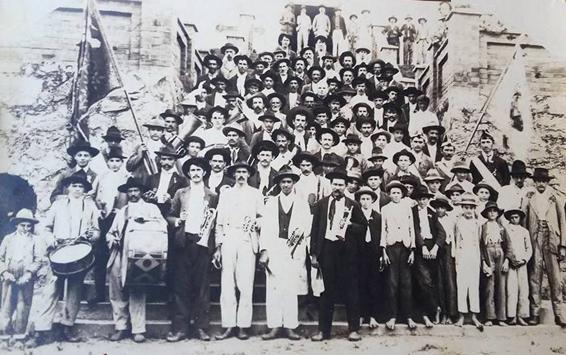 Rodeio Banda 1914 - fundada em 1888