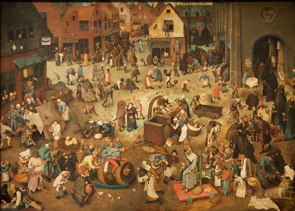 Combate de Carnaval Peter Bruegel